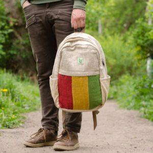 Рюкзак из конопли Раста